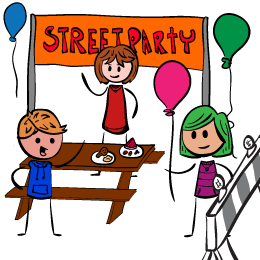 Village Street Party Success